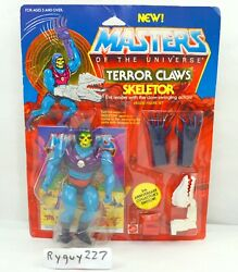 Motu Terror Claws Skeletor Masters Of The Universe Moc Carded Sealed Figure
