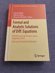 Formal and Analytic Solutions of Diff. Equations: FASdiff Alcala de Henares Sp $105.00