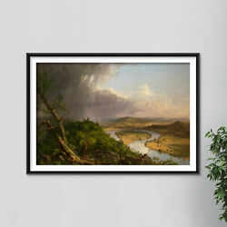 Thomas Cole - View From Mount Holyoke 1836 - Painting Poster Art Print Gift