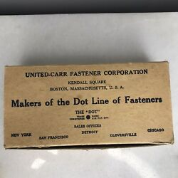 Dot Fastners -united-carr Fastners Co. - Birdcage Style - Kelly Green