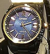 Citizen Exceed As7164-99l Titanium Limited Edition Eco-drive Solar Mens Watch