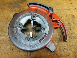 Ridgid Model 815 Self Opening Pipe 1/8-2 Die Head For 300 With 1-2 Npt Cutters