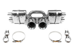 Fabspeed 997.2 Gt3/gt3rs Center Mini Maxflo Exhaust Polished Tips