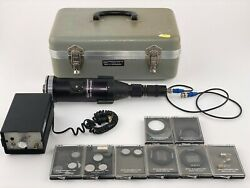 Vintage Optical Instruments Corp Optoliner Mini Tvo Projector With Test Slides