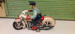 Video Box Mint Mt Tin Battery Police Cop Highway Patrol Indian Trick Motorcycle