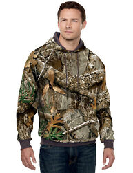 Tri-mountain 80/20 Hooded Sweatshirt With Realtree Apand039 Pattern 689c S-4xl
