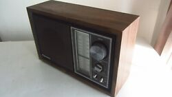 Vintage 1979 Panasonic Re-6289 Fm Am Table Radio Tested Works Great -made In Jap