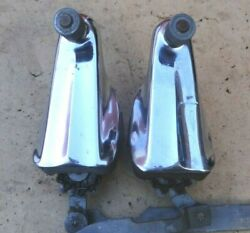 1941 1942 Chevy Windshield Wiper Towers Original Gm Trico Pair Left Right