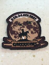Us Army D Co 3-4 Aviation Darkriders Unit Patch Native American Themed
