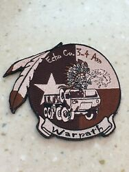 Us Army E Co 3-4 Aviation Warpath Unit Patch Native American Themed