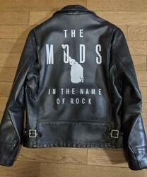 The Shot With Mods Logo Schott Leather Jacket Made