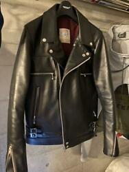 Undercover Riders Jacket Leather Jean