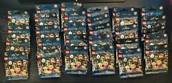 Lot Of 29 Sealed Harry Potter Fantastic Beasts Collectible Minifigures 71022
