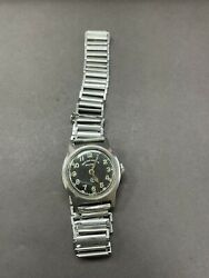 Vintage Military West End Watch Co Secundus Hand Wind Movement Ss Watches R2