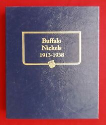 Whitman Classic Coin Album For Buffalo Nickels - New