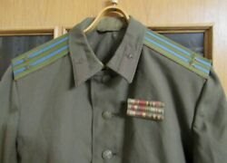 Soviet Field Tunic Of Lieutenant Colonel Of Airborne Troops With Ribbon Bar 52-2
