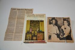 Oriental Antiques And Collectibles A Guide By Arthur And Grace Chu Signed W/extras