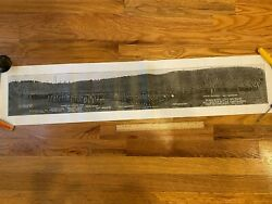 Ww1 Panoramic Print Camp Devens Plymouth 12th Division Commanding General Mccain
