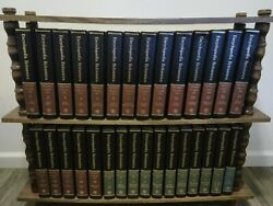 Encyclopedia Britannica 15th Ed. 30 Vol. Complete Set 1981 Black Padded Leather