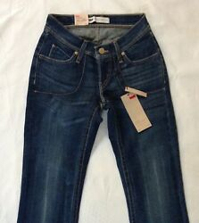 Women Jeans Size7. Length 30. Curvy Bootcut. Stretch Ultra Low Rise. Auth