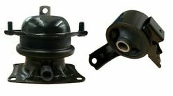2pc Front And Front Right Engine Mount Fit 2009-2015 Honda Pilot Awd Fast Shipping