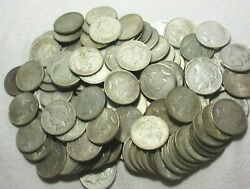 Peace Silver Dollar  Misc Group Lot Ten 10 Average Cirulated Condition