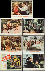 Posters The Time Machine 1960. Title Card And Lobby Cards 6 11x14 Vf 7.5