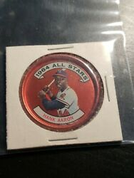 1964 Topps Hank Aaron Milw. Braves  Ex.mint - Condition Vintage Rare