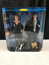 1998 Mattel The X-files Scully And Mulder Barbie Collectibles 19630 Nos 12 Dolls
