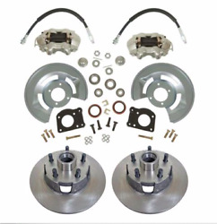 1964.5-1973 Ford Mustang Drum-disc Brake Conversion -11.25 Rotor- 2 Yr Warranty