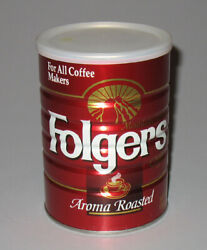 Folgers Mountain Grown Coffee Aroma Roasted Sealed Unopened Can