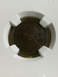 1892 Great Britain 1 Farthing Graded Xf40 By Ngc