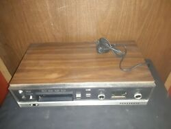 Vintage Panasonic Rs-803us 8-track Stereo Player And Recorder-as Is Read