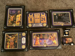 The Complete Kobe Bryant Highland Mint Collection Set