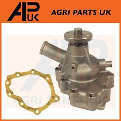 Water Pump Assembly + Gasket For Massey Ferguson 210 220-4 2wd Compact Tractor