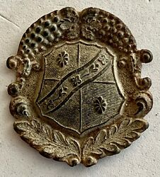Early Shield Of Some Kind- Metal Detector Find