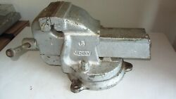 Vintage Wwii Bench Vise Henry 5 Craftmaster, Crafttools Ldt -69 Lbs
