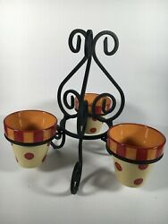 Southern Living At Home Gail Pittman Pots And Wrought Iron Planter