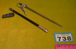 1/6 Scale Wwii German Sword For Dragon Dreams Did Action Figure B738
