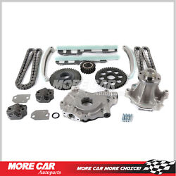 Timing Chain Kit W/ Water Oil Pump Fit 97-01 Ford F-150 Explorer Expediton E-150