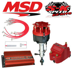 Msd 9515 Ignition Kit- Digital 6 Plus/distributor/wires/blaster Coil - Ford 351w
