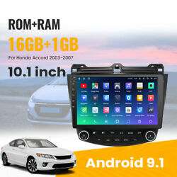 Brand New 10.1and039and039 Android 9.1 Car Stereo Gps Navigation For Honda Accord 03-07