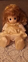 Precious Moments 17 Inch Angel Doll Pre-owned In Great Condition
