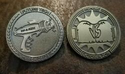 Loot Crate Gaming Coin Pins March 2017 Future Tech And October 2016 Rumble