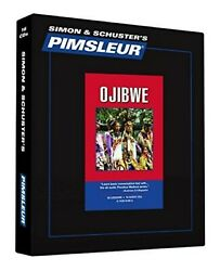 Pimsleur Ojibwe Level 1 16 Cds Learn To Speak And Understand Ojibwe New Rare