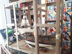 Wooden Ship Model/ Barco Madera Sovereing Of The Seas