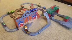 Thomas And Friends Take-n-play Lot With Two Train Sets And 20 Trains