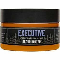 Live Bearded Butter Executive Leave In Conditioner For Beards 3 Oz. Style To