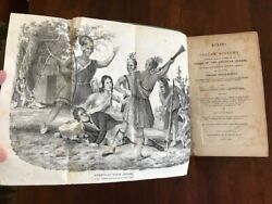 Rare 1842 Events In Indian History, Account Of Origin Native Americans, Tribes