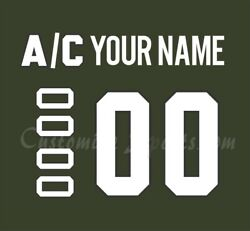 Montreal Canadiens Customized Number Kit For 2019-20 Camo Jersey